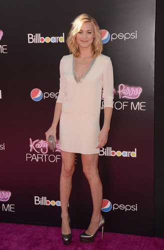 Yvonne Strahovski @ the Premiere of 'Katy Perry: Part Of Me 3D'
