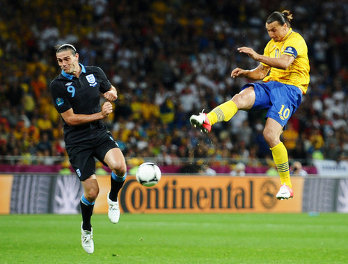 Zlatan Ibrahimovic wallpaper possibly containing a fullback and a soccer player entitled Z. Ibrahimovic (Sweden)