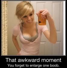 awkward....