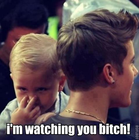 beliebers be carefull hahahaha