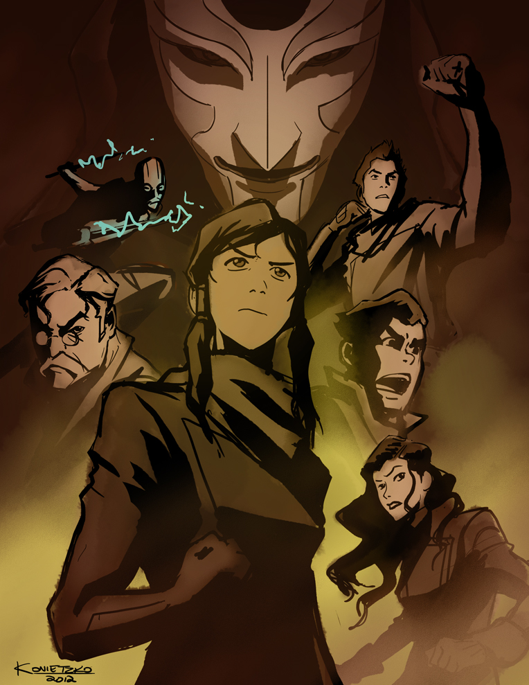 Avatar the legend of korra images by bryan konietzko hd wallpaper and