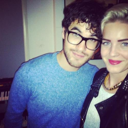 darren and annie - darren-criss Photo