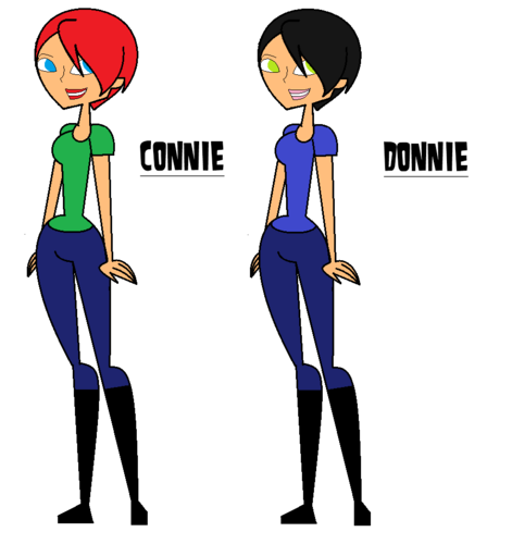 donnie and connie(twins)