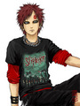 emo gaara - gaara-and-the-sand photo