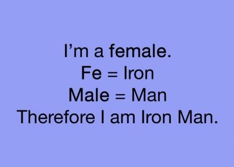 girls are iron man!!!!!! and tony stark