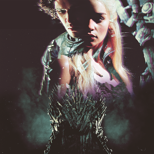 Game of Thrones wallpaper called Daenerys Targaryen & Jon Snow