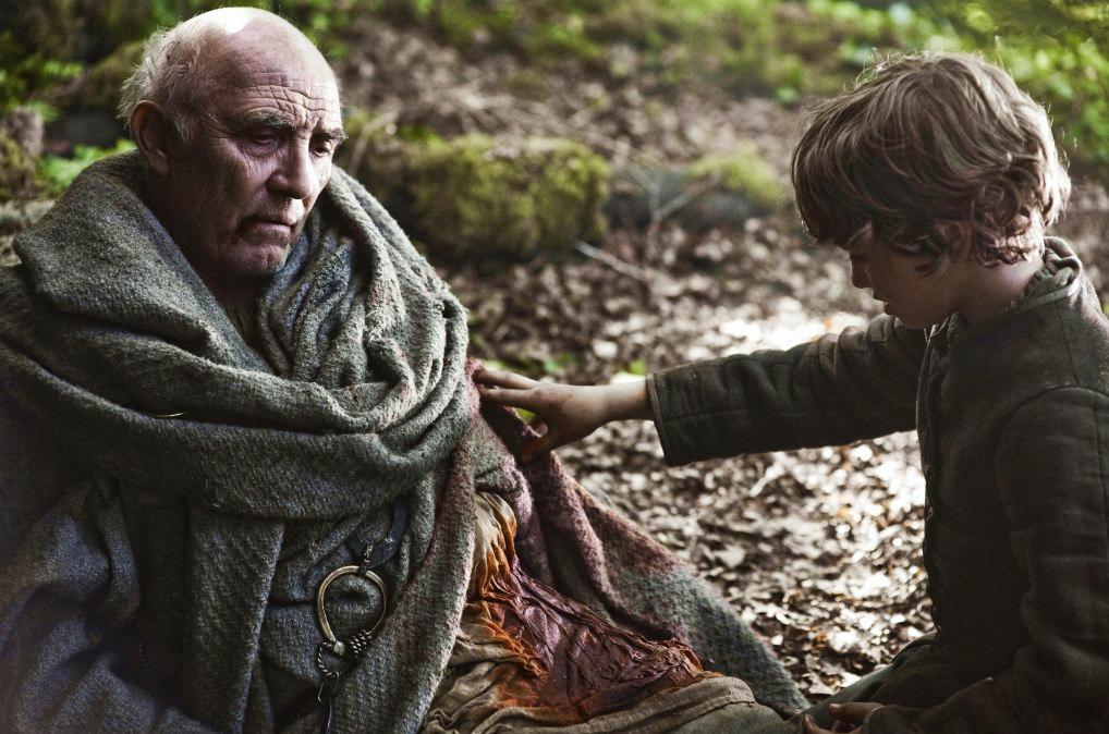Maester Luwin & Rickon Stark