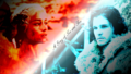 game-of-thrones - Daenerys Targaryen & Jon Snow wallpaper
