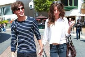Louis Tomlinson And Eleanor Calder Holding Hands