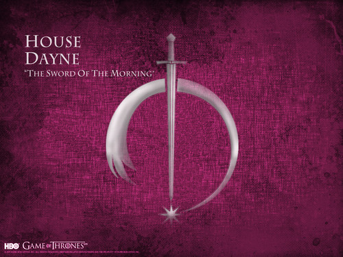 Game of Thrones پیپر وال entitled House Dayne