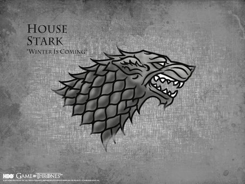 Game Of Thrones Fond Du0027écran With A Sign Called House Stark
