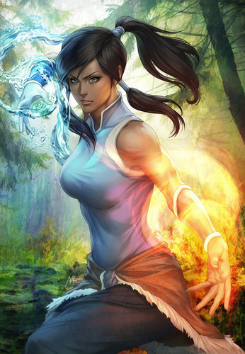 Avatar: The Legend of Korra wallpaper entitled just a fan art