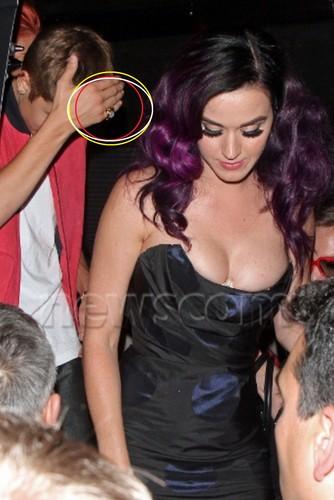 justin & Katy Perry 2012