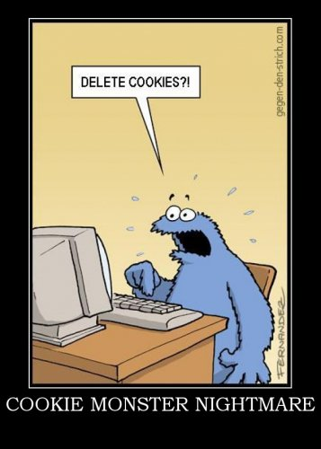 Cookie Monster wolpeyper with anime titled lol