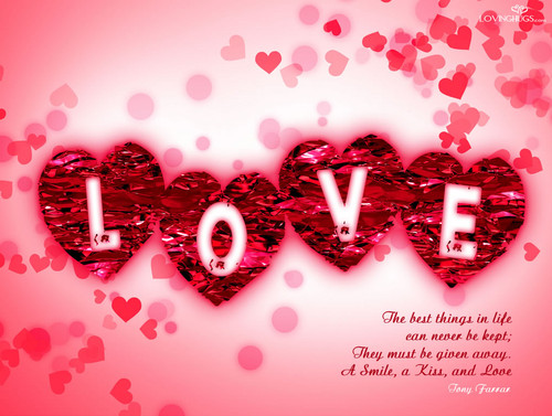 Love wallpaper entitled love
