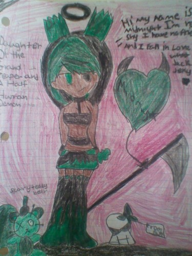 me as monster high character