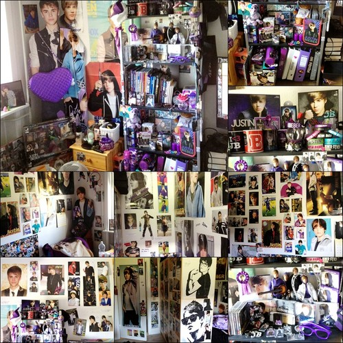 Justin Bieber wallpaper entitled my bieber room :)<3