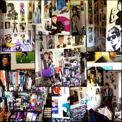 my bieber room :)