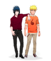 naruto and sasuke - naruto-shippuuden photo