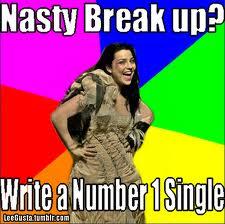 nasty breakup?