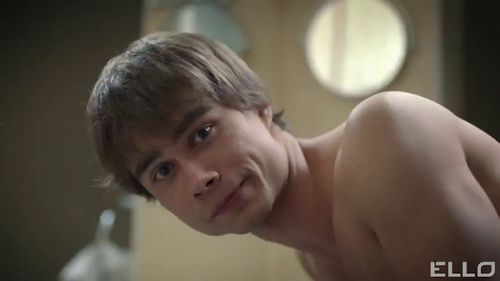 Alexander Rybak پیپر وال containing skin entitled our sexy cupid