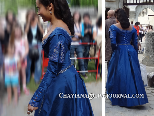 queen Guinevere new dress