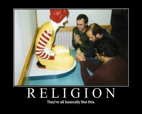 religion. that's what it is. - atheism Photo