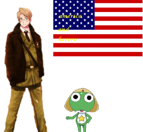 sergeant frog and হেটালিয়া