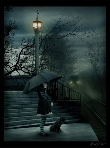 the sad rain