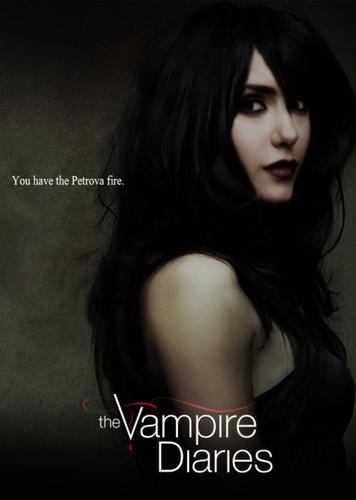 the vampire diaries season 4 petrova آگ کے, آگ