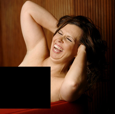 Nude models sucking boobs