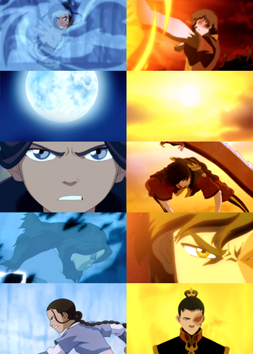 water_Fire - avatar-the-last-airbender Fan Art