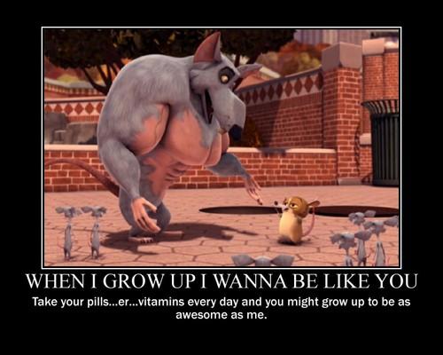when I grow up I wanna be like anda