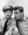  Andy Griffith &amp; Don Knotts   - fallen-idols photo