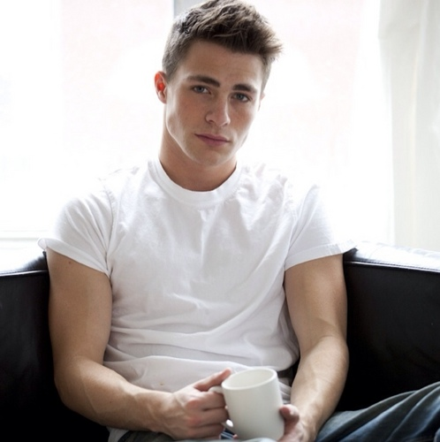Colton Haynes wallpaper containing a coffee break titled  Colton Haynes