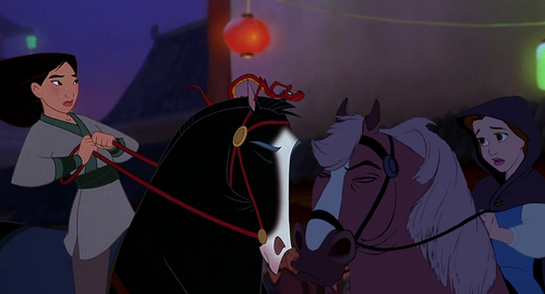"""I've really got to go now, Mulan."""