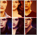 ★ Jacob, Bella & Edward ☆ - twilight-series photo