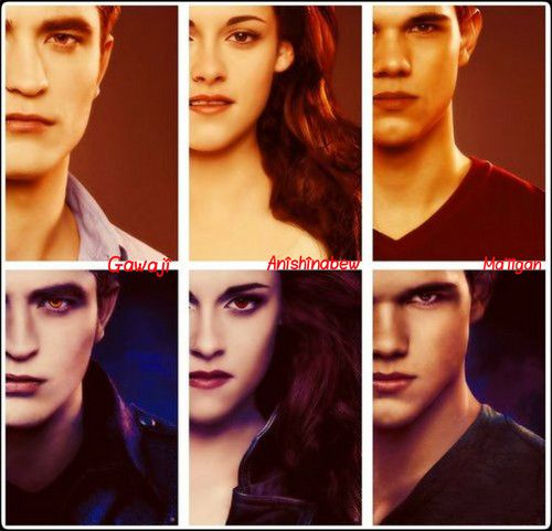 ★ Jacob, Bella & Edward ☆