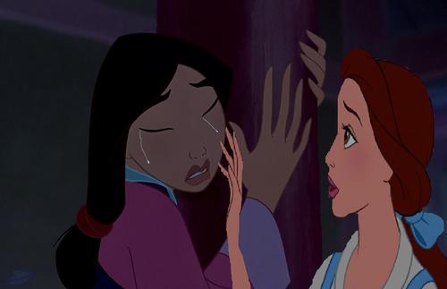 """""""Mulan, what's wrong?"""""""
