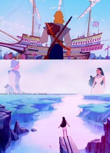 ♡~ Pocahontas & John Smith Collage ~♡