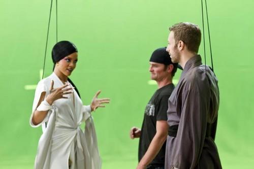 'Princess of China' video shooting