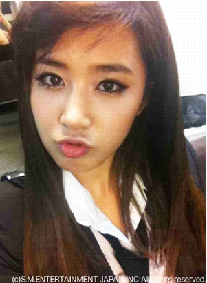 [SNSD]Selca & Message @ Giappone Mobile Fansite