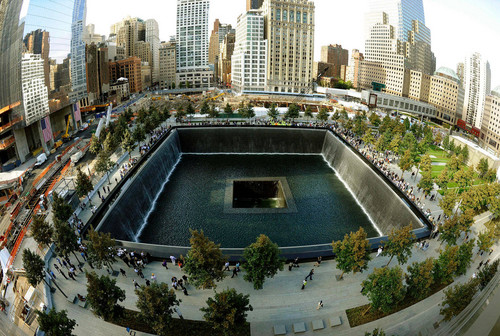 9/11 Memorial Reflecting Pool