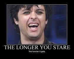 A Hilarious Smile From Billie Joe