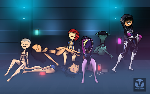 After party - total-drama-island Fan Art