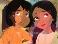 알라딘 & Tiana's children.