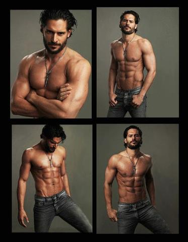 True Blood wallpaper with a six pack, a hunk, and skin called Alcide