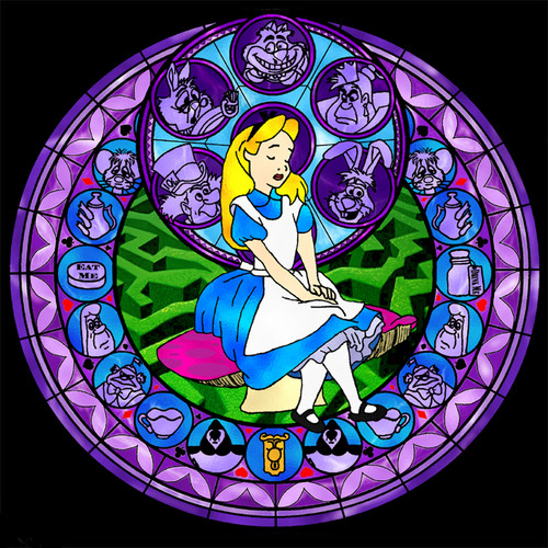 Alice Stained Glass