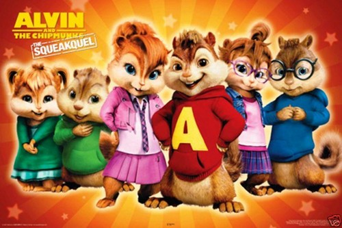 All chipmunks