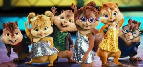 All chipmunks